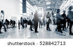 blurred business people at a... | Shutterstock . vector #528842713