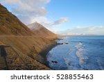 icelandic coast  | Shutterstock . vector #528855463