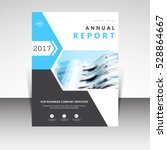 business annual report brochure ... | Shutterstock .eps vector #528864667