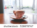 a cup of latte   caff   latte.... | Shutterstock . vector #528878767