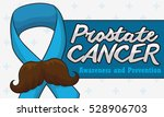 banner with funny mustached... | Shutterstock .eps vector #528906703