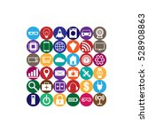 internet of things square...   Shutterstock .eps vector #528908863