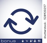 arrows loop icon