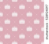 seamless pattern in retro style ... | Shutterstock .eps vector #528924097