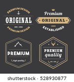 set of tag badge banner... | Shutterstock .eps vector #528930877