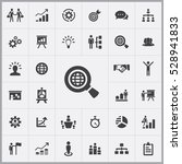 business strategy icons... | Shutterstock . vector #528941833