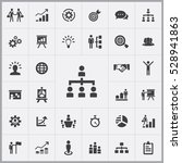 people structure icon. business ... | Shutterstock . vector #528941863