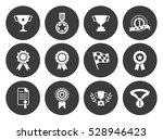 winner icons  | Shutterstock .eps vector #528946423