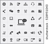 chat icon. communication icons... | Shutterstock . vector #528951043