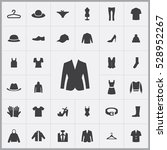 clothes icons universal set for ... | Shutterstock . vector #528952267