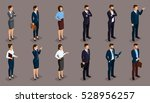 people isometric 3d ... | Shutterstock .eps vector #528956257