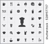 chef icon. cafe icons universal ... | Shutterstock . vector #528957757