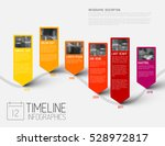 colorful infographic... | Shutterstock .eps vector #528972817