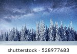 dairy star trek in the winter... | Shutterstock . vector #528977683