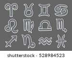 zodiac signs | Shutterstock .eps vector #528984523