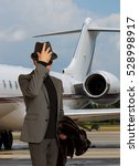 handsome man incognito near a...   Shutterstock . vector #528998917