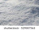 snow field texture background... | Shutterstock . vector #529007563