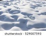 snow field texture background | Shutterstock . vector #529007593
