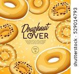 doughnut elements   vector... | Shutterstock .eps vector #529014793