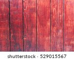 Red Wooden Boards Grunge...