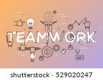 modern vector illustration... | Shutterstock .eps vector #529020247