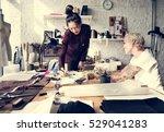 creative design dress fashion... | Shutterstock . vector #529041283