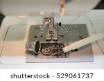 sewing machine close up | Shutterstock . vector #529061737