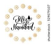 vector feliz navidad ... | Shutterstock .eps vector #529079107