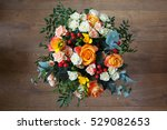 bouquet of flowers | Shutterstock . vector #529082653