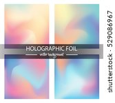holographic foil vector... | Shutterstock .eps vector #529086967