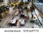 workshop on production of... | Shutterstock . vector #529169773