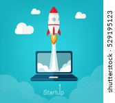 vector illustration concept for ... | Shutterstock .eps vector #529195123