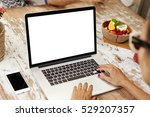 people  leisure and technology. ... | Shutterstock . vector #529207357