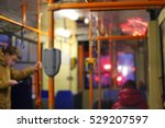 blurred public transport... | Shutterstock . vector #529207597