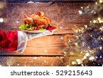 Christmas Holiday Dinner. Sant...