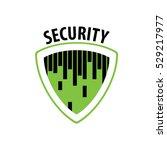 vector logo security | Shutterstock .eps vector #529217977