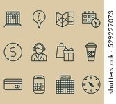 set of 12 travel icons. can be...