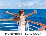 Cruise Ship Vacation Woman...