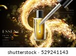 golden essence skin care... | Shutterstock .eps vector #529241143