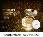 foundation product ad with... | Shutterstock .eps vector #529241323