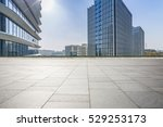 empty floor with modern... | Shutterstock . vector #529253173