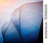 detail shot of skyscrapers in...   Shutterstock . vector #529263103