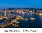 hong kong city   | Shutterstock . vector #529274707
