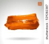 brush stroke and texture.... | Shutterstock .eps vector #529282387