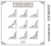vector set of elements for... | Shutterstock .eps vector #529286503