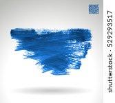 brush stroke and texture.... | Shutterstock .eps vector #529293517