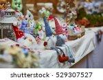 Funny Handmade Gnomes On Marke...