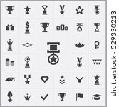 award icons universal set for... | Shutterstock . vector #529330213