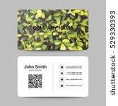 modern business card template | Shutterstock .eps vector #529330393