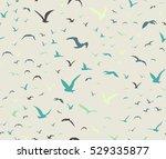 Blue Colored Seagulls...